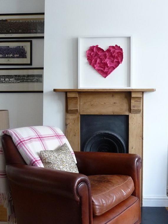 65 -Gorgeous- Valentine's- Day- Mantel- Décor- Ideas_59