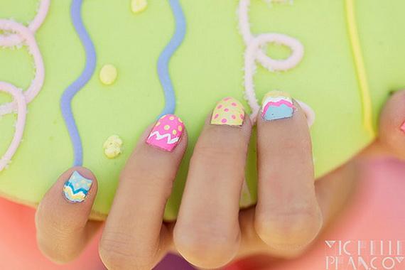 Nail Art Designs Easter Egg Nails Design Photos Inspiration