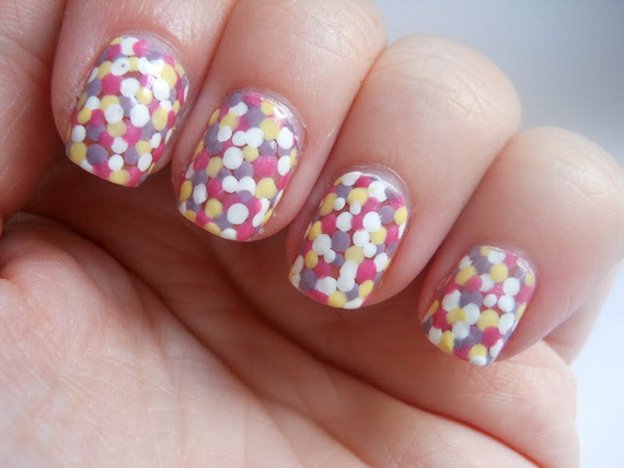 Adorable Easter Egg Nail Art Ideas 11