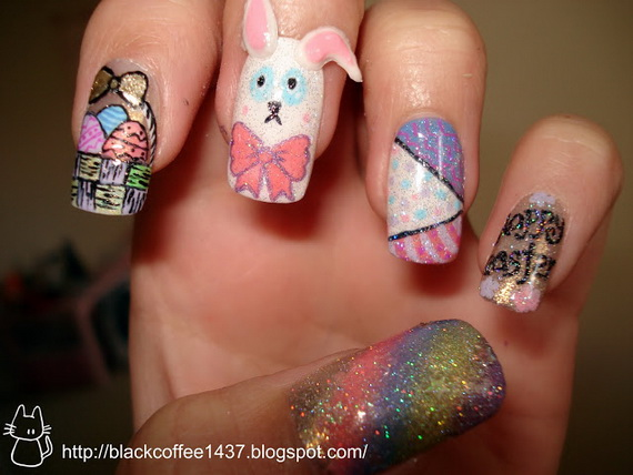 Adorable -Spring & Easter- Nail- Art- Ideas_05