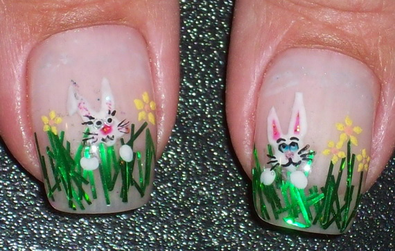 Adorable -Spring & Easter- Nail- Art- Ideas_17