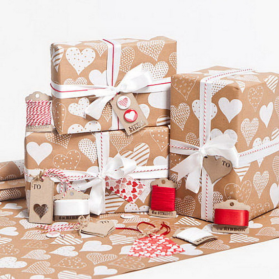 Beautiful Wrapping- Gift- Design-s and- Ideas-  For- Valentine's- Day_12