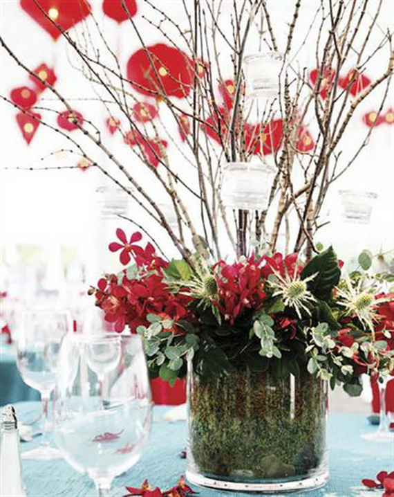 Chinese new year centerpiece ideas family holiday