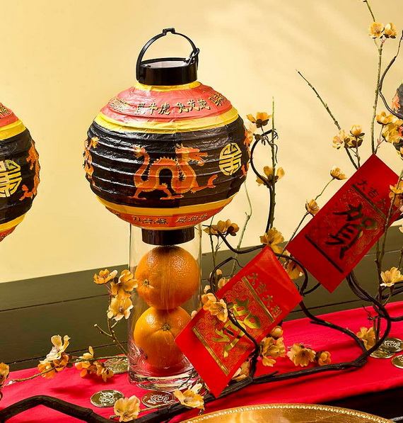 Chinese new year centerpiece ideas family for Asian wedding decoration ideas