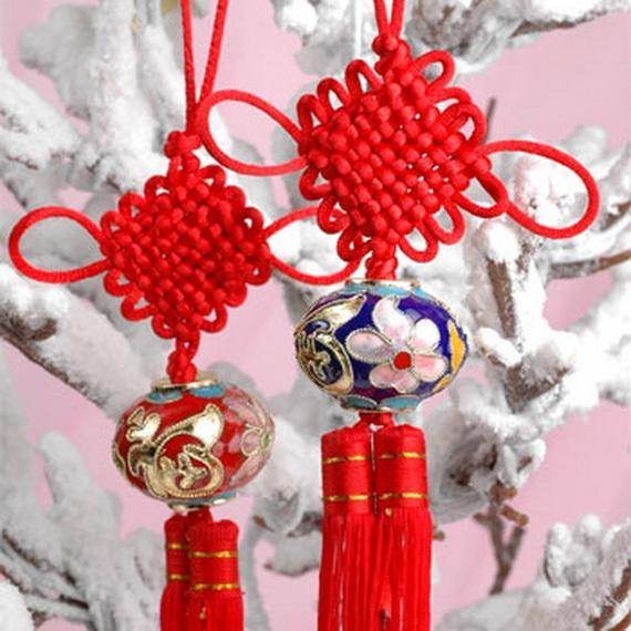 Chinese decoration ideas architecture design for Decoration new year
