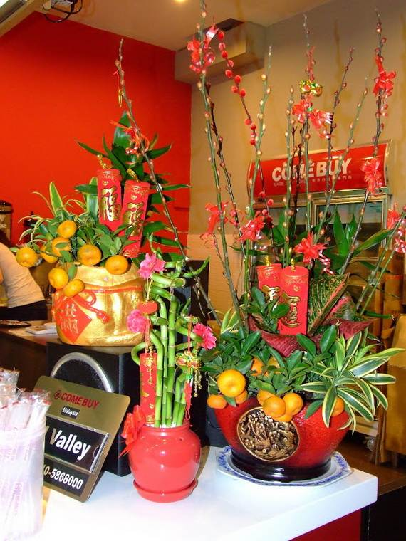 Chinese new year decorating ideas family for Asian decoration ideas