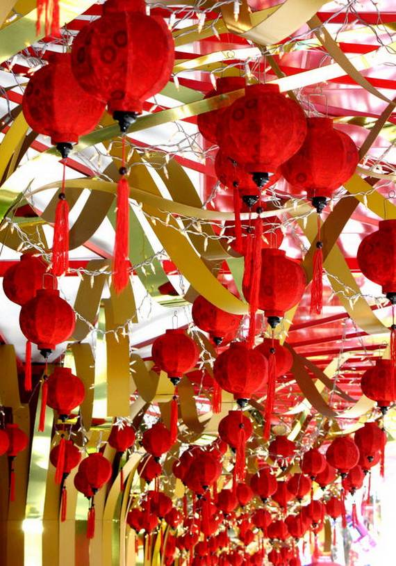 Chinese new year decorating ideas family for Decoration new year