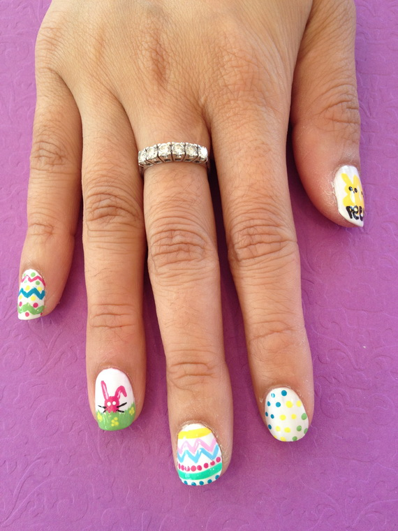 Cute- Easy Easter- Bunny- Nails- Ideas_04