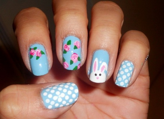 Cute- Easy Easter- Bunny- Nails- Ideas_05