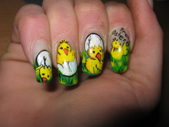 Cute- Easy Easter- Bunny- Nails- Ideas_08