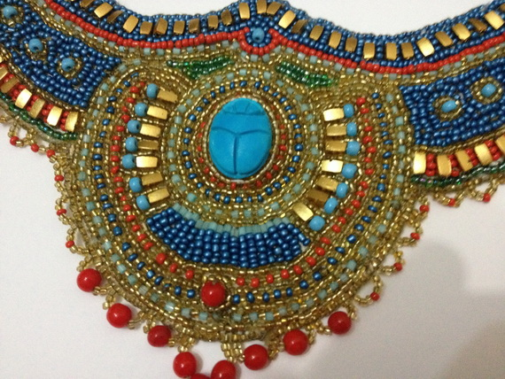 Egyptian Scarab Necklace_2