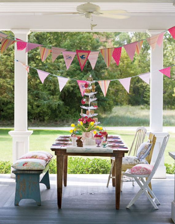 Exclusive outdoor easter decorations family for Outdoor brunch decorating ideas