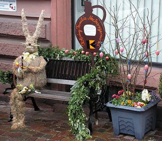 Exclusive Outdoor Easter Decorations 41