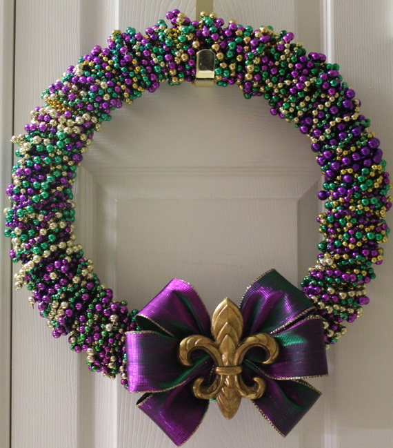 Mardi Gras Candle Decorations