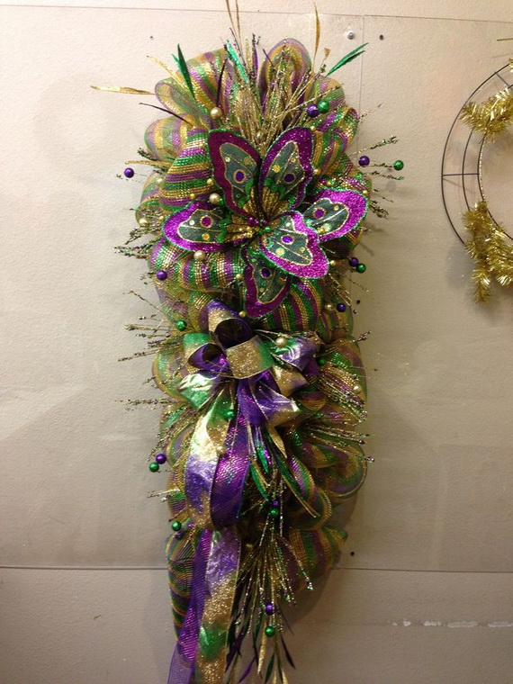 Mardi Gras Candle Decorations_06