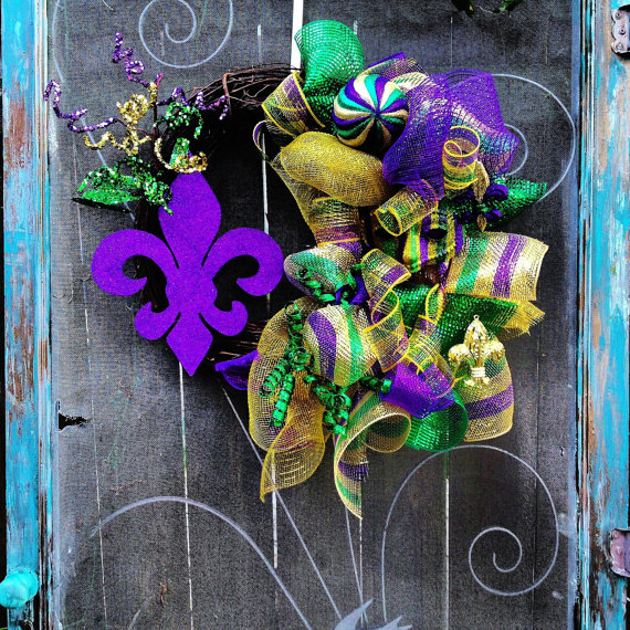 Mardi Gras Candle Decorations_11
