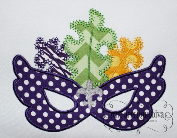 Mardi Gras Candle Decorations_15