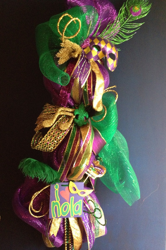 Mardi Gras Candle Decorations_20