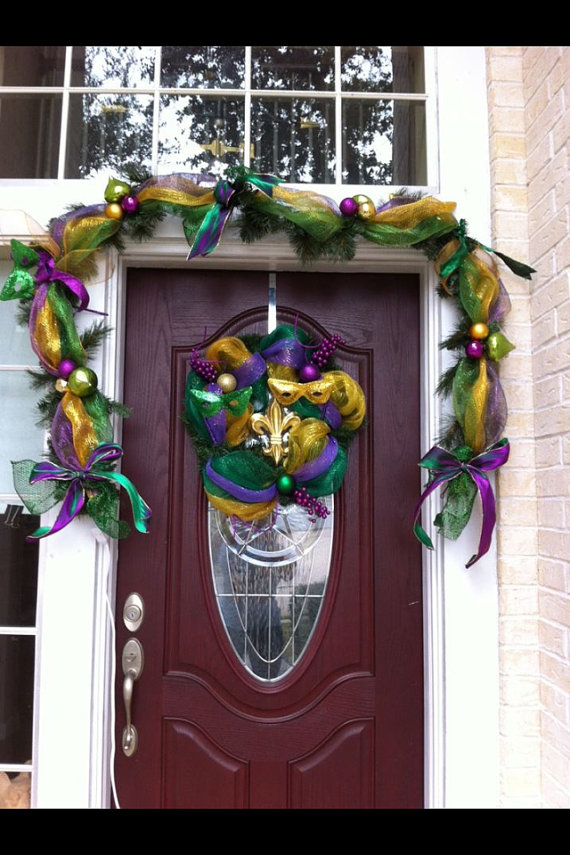 Mardi Gras Candle Decorations_25