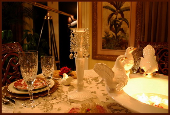Romantic- Valentine's Day- Table -Setting -ideas_002