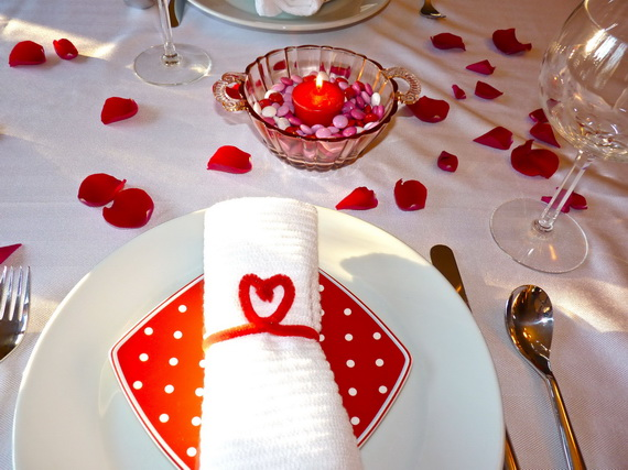 Romantic Valentine's Day Table Setting Ideas family