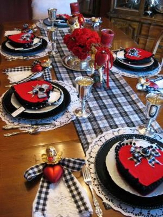 Romantic- Valentine's Day- Table -Setting -ideas_069