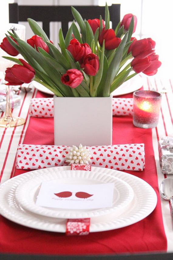 Romantic- Valentine's Day- Table -Setting -ideas_091