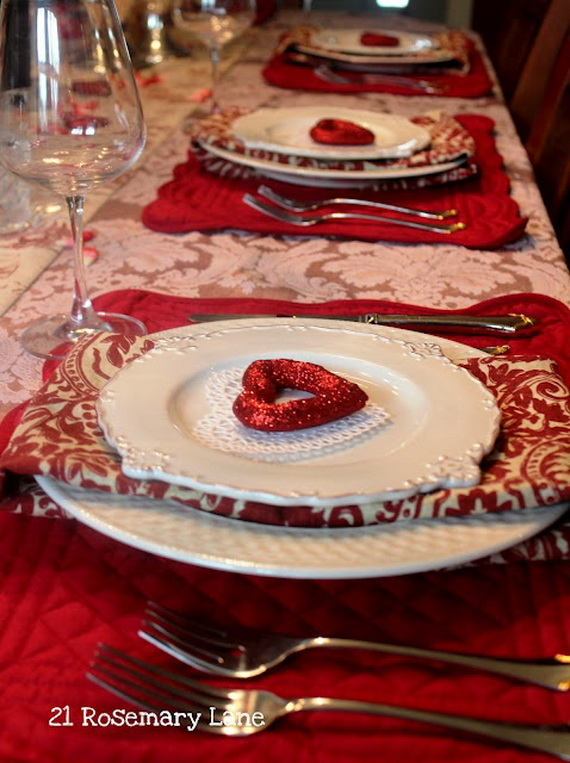 Romantic Valentine S Day Table Setting Ideas Family Holiday Net