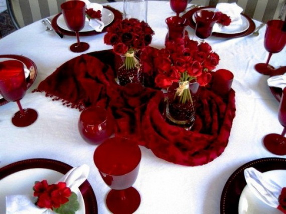 Romantic- Valentine's Day- Table -Setting -ideas_113