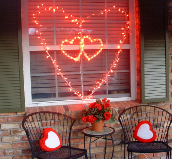 Valentine's Outdoor Decoration Ideas