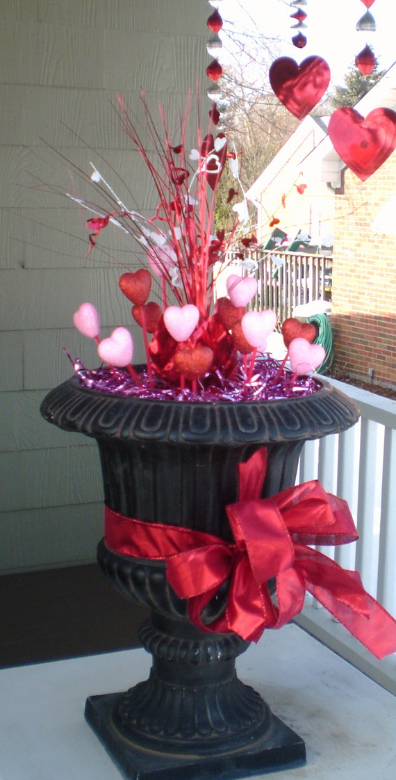 Valentine S Outdoor Decoration Ideas Family Holiday Net