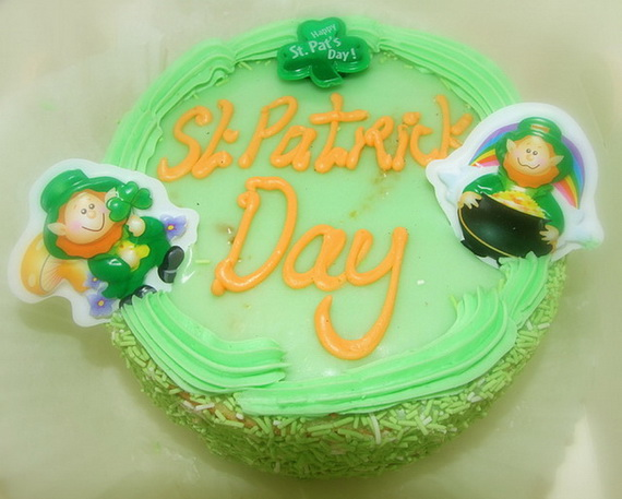 Cute Leprechaun cake leaves you to wonder how to make a leprechaun cake for your party_resize