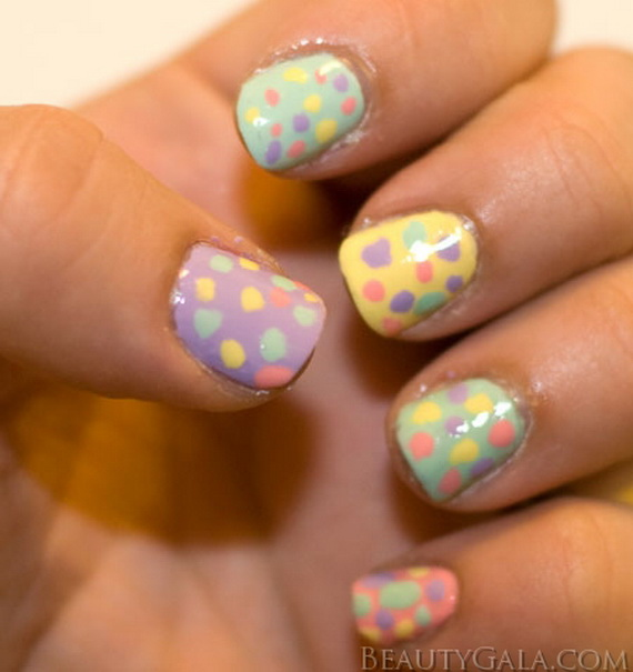 diy easter nail designs for tiny fingers_25 - Little Girl Nail Design Ideas