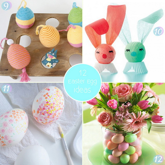Easter Egg Decorating Ideas Easter Egg Crafts Family