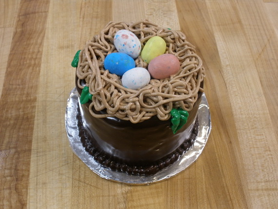 Easy easter cake decorating ideas family for Homemade cake decorations