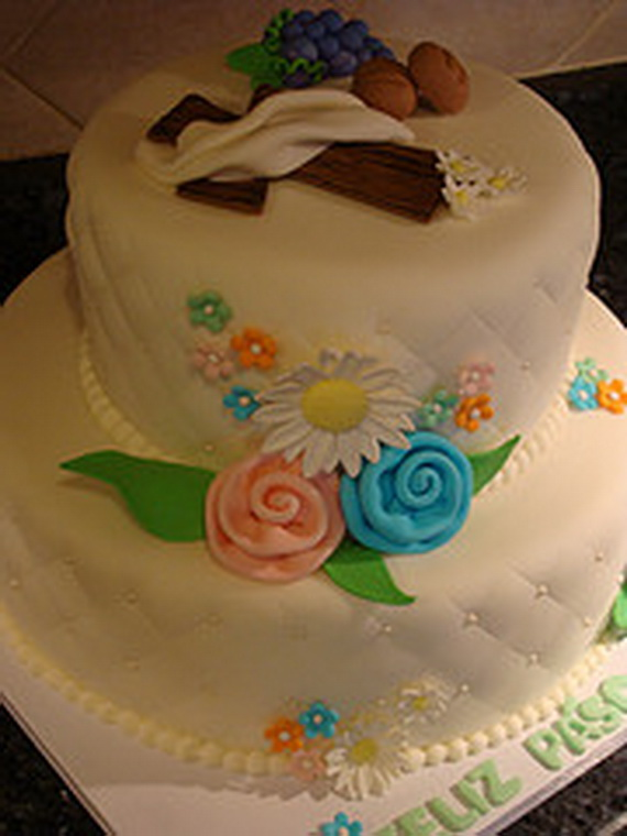 Easy Easter Cake Decorating Ideas - family holiday.net/guide to family holidays on the internet