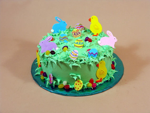 Easter Cake Decor Ideas : Easy Easter Cake Decorating Ideas - family holiday.net/guide to family holidays on the internet