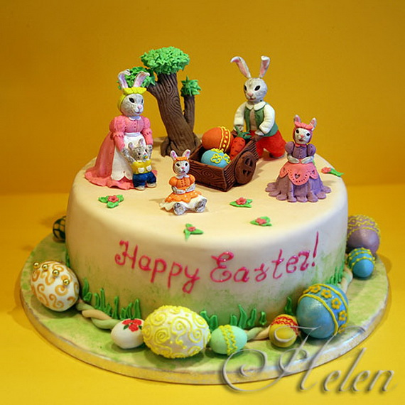 Cake Decorating Ideas For Easter : Easy Easter Cake Decorating Ideas