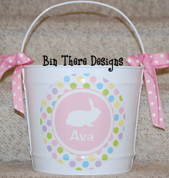 Personalized- Hand- Painted- Girl- Bunny- Easter- Basket- Ideas_32