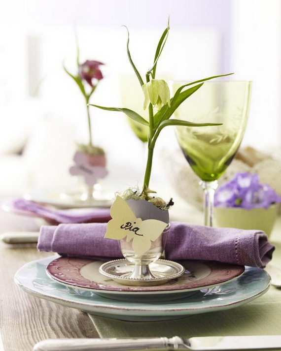 Spring centerpieces and table decorations family holiday