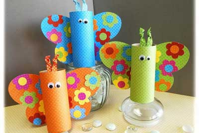 Spring Craft Ideas – Easy & Fun Spring Crafts and Projects