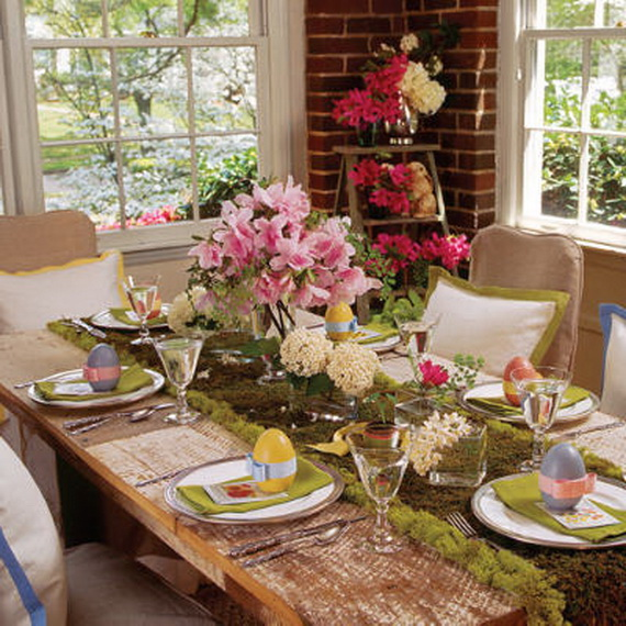 gorgeous easter spring table setting decoration ideas
