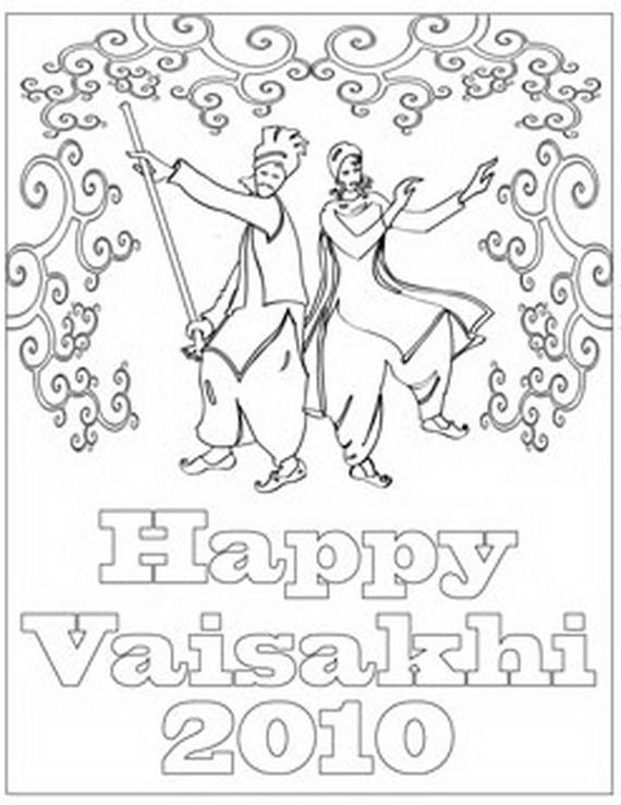 Baisakhi- Coloring- Pages- (Vaisakhi- Festival)_11