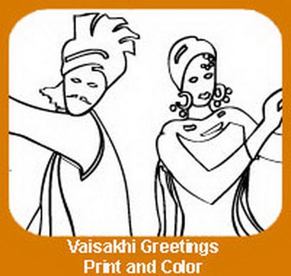 Baisakhi- Coloring- Pages- (Vaisakhi- Festival)_12