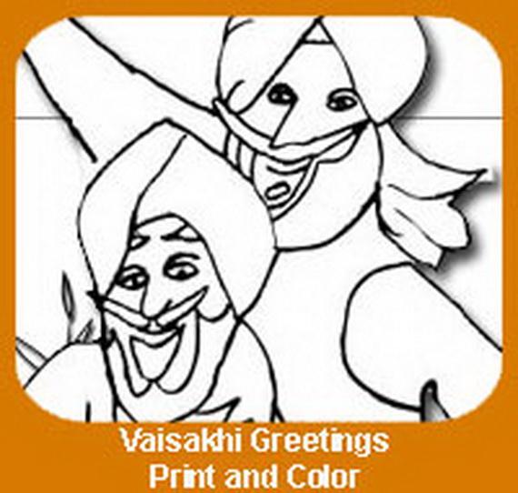 Baisakhi- Coloring- Pages- (Vaisakhi- Festival)_13