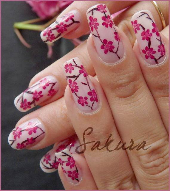 Best- Spring- Nail Manicure- Trends- Ideas For- 2013_12