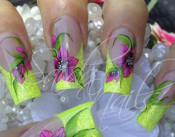 Best- Spring- Nail Manicure- Trends- Ideas For- 2013_15