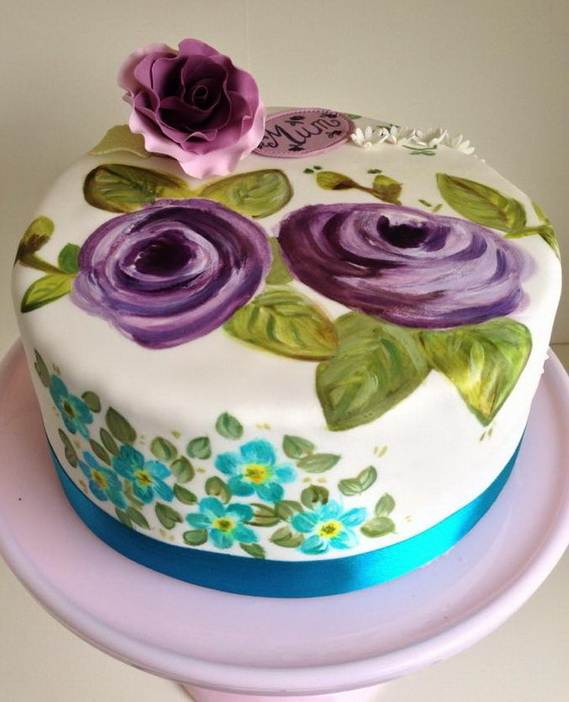 Cake-Decorating-Ideas-for-a-Moms-Day-Cake_4