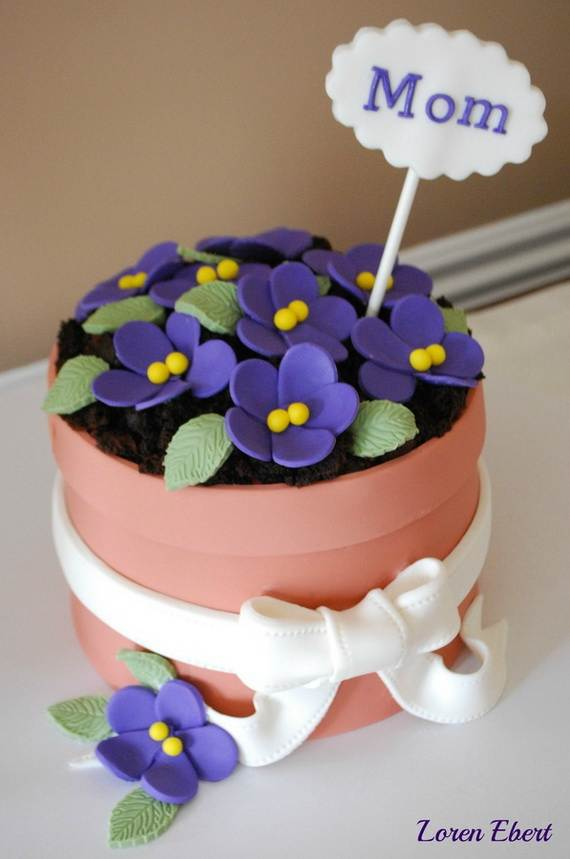 Cake Designs Mother S Day : Celebrate Mothers Day with Decorating Ideas of Cakes ...