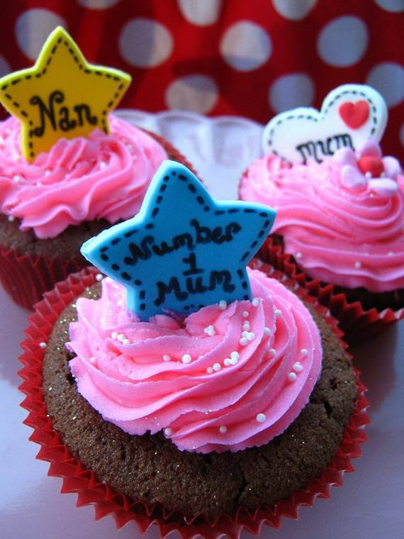 Cupcake Decorating Ideas For Mothers Day - family holiday ...